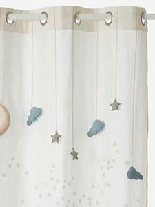 Sterne Deko Kinderzimmer : vorhang deko aufbewahren vertbaudet ~ Markanthonyermac.com Haus und Dekorationen