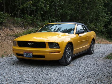 2005 Ford Mustang Convertible by 2005 Ford Mustang Convertible V Pictures Information