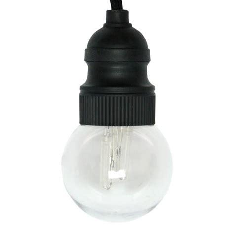 Gki Bethlehem Lighting by Gki Bethlehem 09750 10 Light Black Wire G50 Warm White
