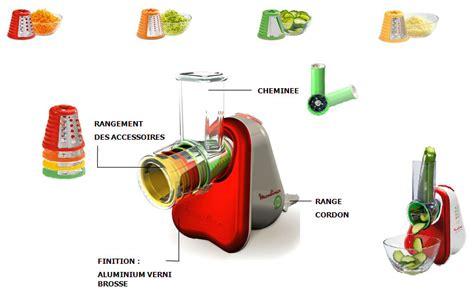 cuisine rappeur moulinex dj751g33 râpe fresh express 4 cônes rubis
