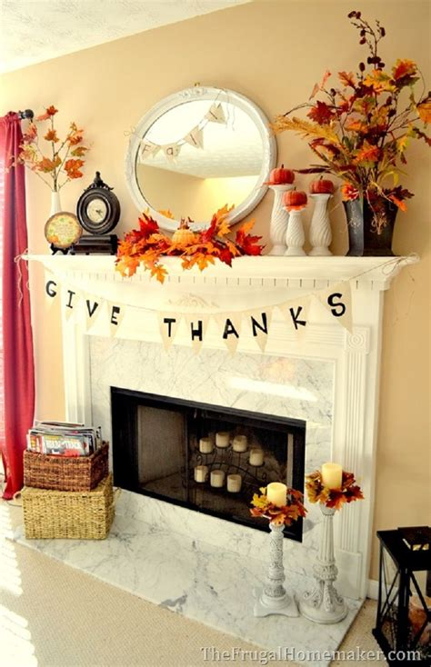 Decorating Ideas For Fireplace by Best 25 Fall Fireplace Decor Ideas On Fall