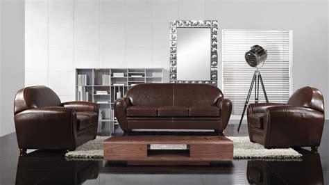 salon canapé fauteuil fauteuil salon marron