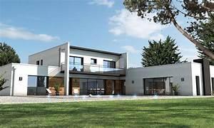 Maison En Bord De Mer : maison moderne bord de mer la baule depreux construction ~ Preciouscoupons.com Idées de Décoration