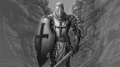 Knight Warrior Wallpapers Fantasy 4k Desktop Medieval