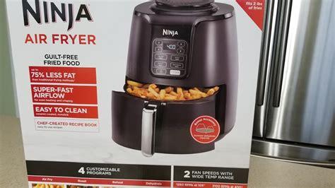 fryer ninja air dehydrate roast airfryer reheat 4qt function ceramic