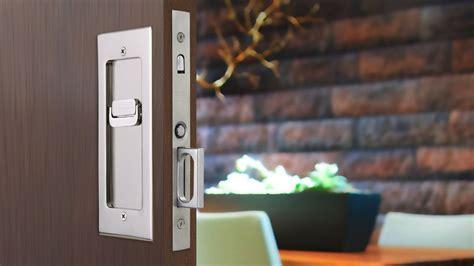emtek pocket door hardware modern rectangular pocket door mortise lock emtek