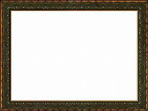 Presentation Photo Frames: Wide Fancy Rectangle, Style 29