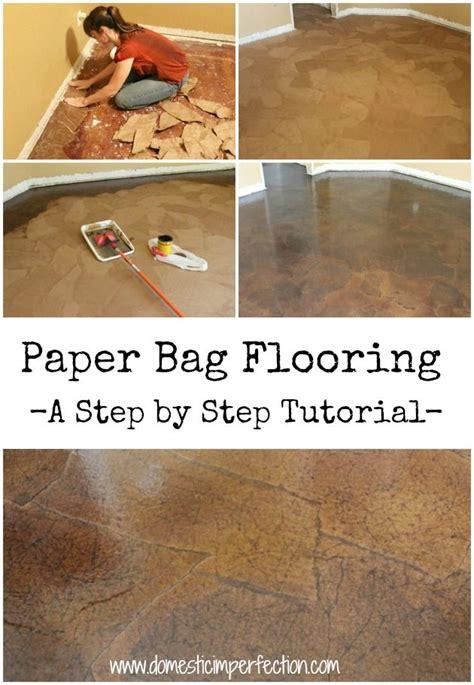 cool cheap floor ls paper bag floors a tutorial brown paper bags bags and