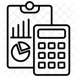 Accounting Icon of Line style - Available in SVG, PNG, EPS ...