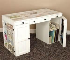 scrapbooking desk plans woodwork