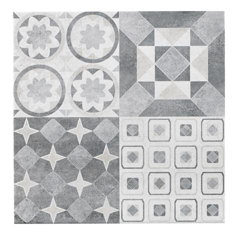 lofthouse grey stone effect patchwork ceramic wall floor