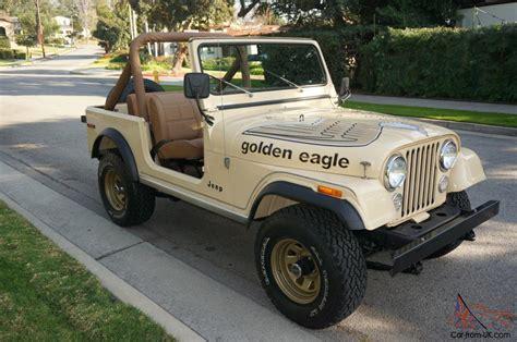 jeep golden eagle for sale 1979 jeep golden eagle cj7