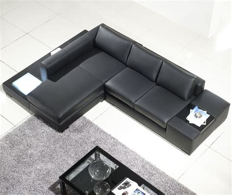 compact leather sectional sofa small black leather sectional sofa combined rectangle gray