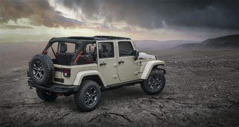 Jeep Car : Jeep Reveals New Wrangler Rubicon Recon For Off-road