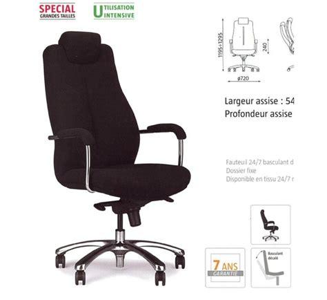 fauteuil 24h pour grande taille on 113 mobilier de bureau