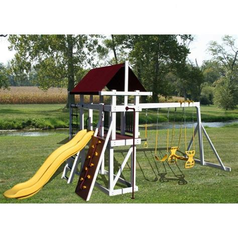 amish swing sets 1000 images about playground on vinyls