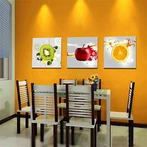 aliexpresscom buy canvas art kitchen wall art fruit With best brand of paint for kitchen cabinets with wall decor art canvas