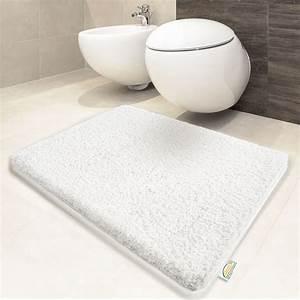 Grand Tapis Salle De Bain : grand tapis de bain sensation doux aux pieds tapis lavable ~ Mglfilm.com Idées de Décoration