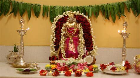 Varalakshmi Vratham Decoration Ideas by Varalakshmi Pooja Decoration Ideas Puja Deco