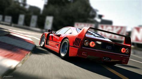 Ferrari F40 Supercar On Track Hd 4k Wallpaper