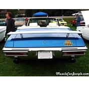 1970 GTO Judge Convertible Rear Spoiler