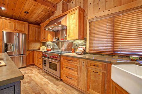 rustic cedar kitchen cabinets photo page hgtv