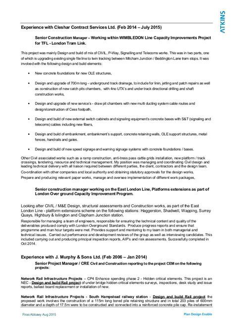 Advanced Scaffolder Resume by Firas Abbawy Cv Atkins