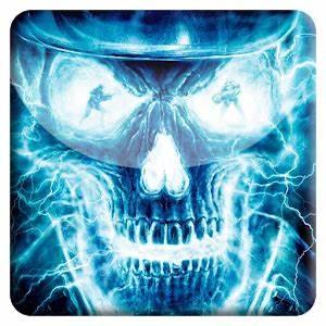 Neon Skull FBI Live Wallpaper Android Apps on Google Play