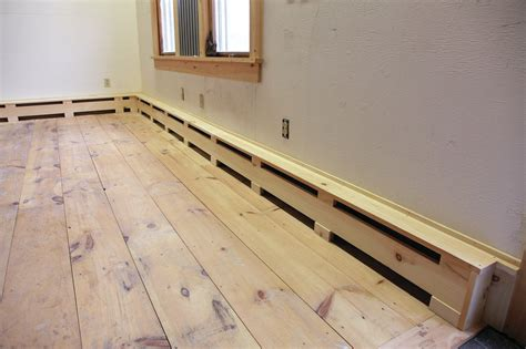 baseboards for sale remodeler randal patterson shows how to make simple wooden covers for hydronic baseboard heat
