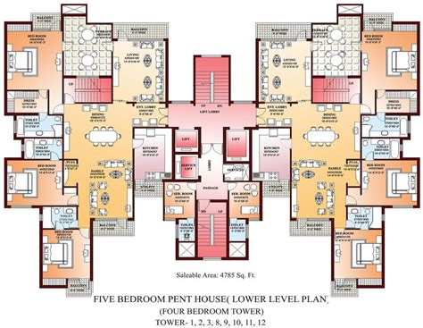 luxury bedroom house plans home plans design
