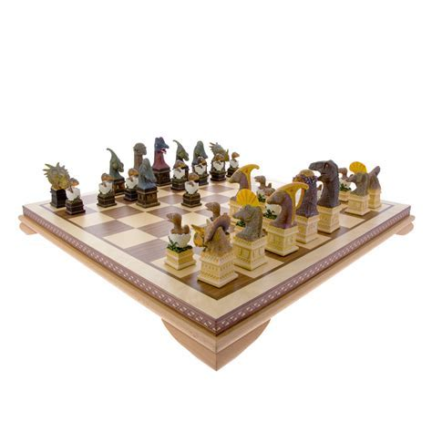 Dinosaur chess set   Natural History Museum Online Shop