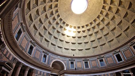 cupola pantheon pictures of the pantheon rome italy italyguides it