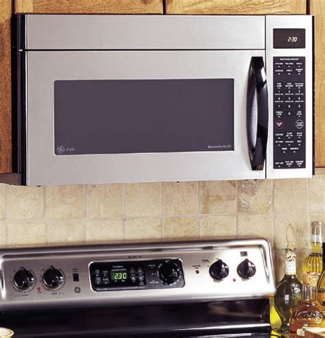 ge microwave with vent fan ge profile spacemaker xl1800 microwave oven with