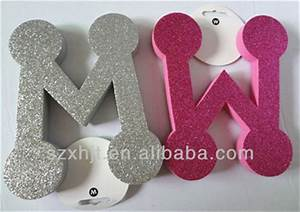 adhesive large glitter 3d foam letters buy glitter 3d With 3d foam letters