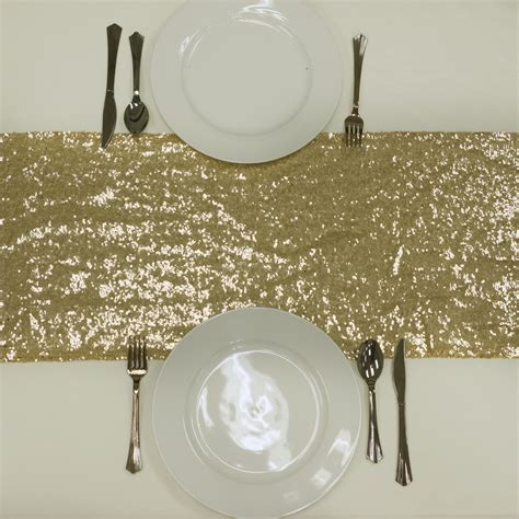 wholesale wedding table runners 20 pcs sequin table runners 12x108 quot wholesale wedding