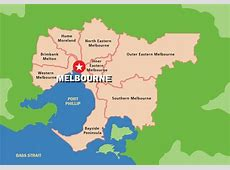 Melbourne Map Download Free Vector Art, Stock Graphics