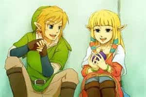 Link X Zelda Skyward Sword