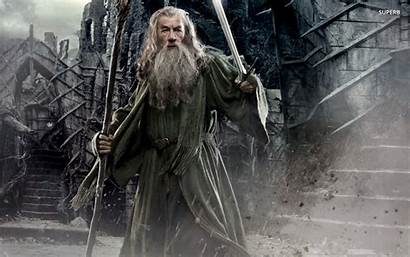 Gandalf Hobbit Smaug Desolation Middle Wallpapers Wizard