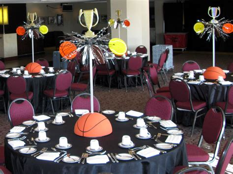 Sports Theme Centerpiece  A Photo On Flickriver