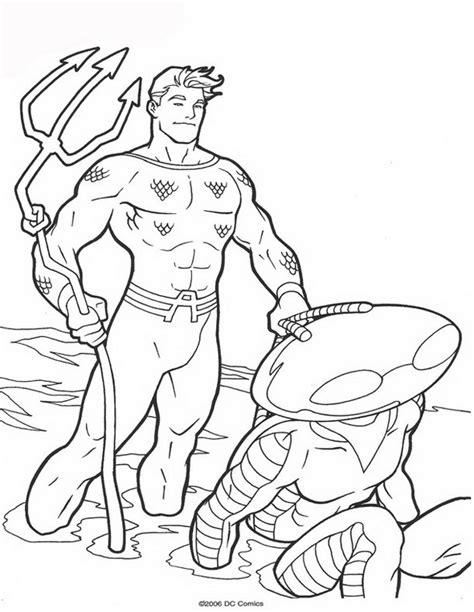Kleurplaat Pozen by N 62 Kleurplaten Aquaman