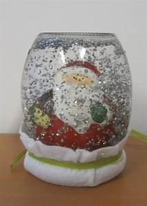 Boule De Neige Noel : boule neige p re noel photo de d co de no l anne ~ Zukunftsfamilie.com Idées de Décoration