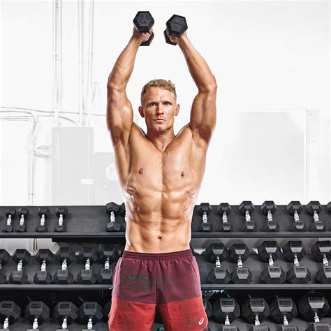 How to Do a Scap Press | Muscle & Fitness