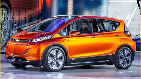 Chevy Bolt 2018  New 2018 Chevrolet Bolt Ev Interior