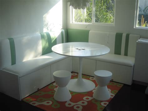 Ikea Banquette Seating by Make A Compact Banquette From Kitchen Cabinets Ikea