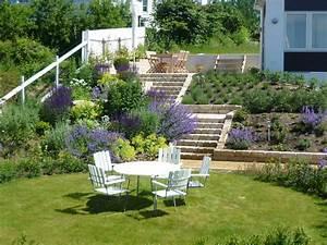 amenagement jardin en pente astuces pour apprivoiser le With jardin en terrasse en pente
