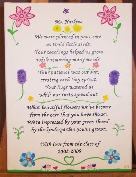 poem for preschool teacher kindergarten personalized poem by kimmadsen on 880