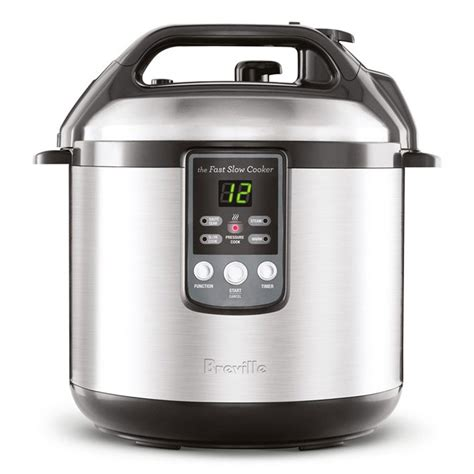 cooker pressure slow electric combo breville fast quart cookers brand cutleryandmore longer