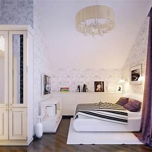 Ideen Frs Jugendzimmer Mdchen Dachschrge Florale