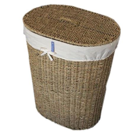 wicker laundry basket with lid wicker laundry linen basket with lid and liner seagrass 1897