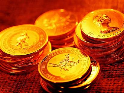 Gold Coins Wallpapers Australian Finance Money Background